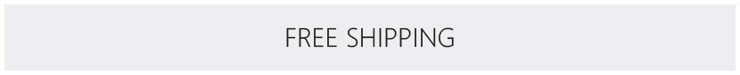 FREE SHIPPING. ALL THE TIME.
